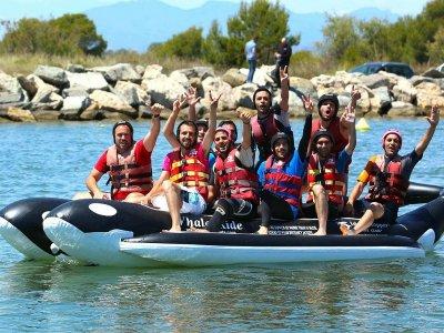 Banana Boat Ride in the Mediterranean, 15 min