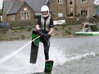 Waterskiing stunts
