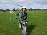 Warming up with Airways Airsports Paramotoring