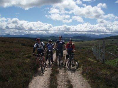 Aquaplay Scotland Mountain Biking
