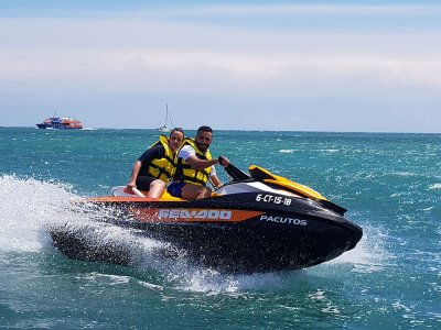 Jet Ski Route to Tabarca + Lunch & Snorkel