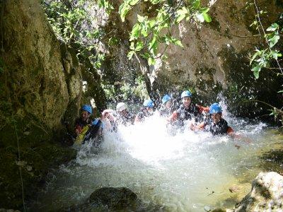 Almadenes water canyon medium level