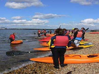 Calshot Activities Centre Kayaking