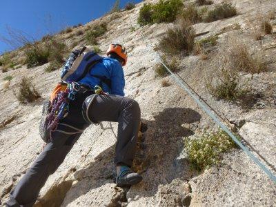 Classic Climbing in the Peñón D'Ifach