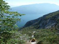 Via ferrata above Lake Garda