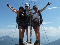 Via ferratas in the Dolomites