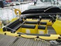Their RIB docked