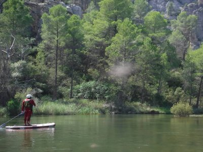 Rafting and SUP in Tamayo stage and Night in Tepee