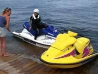 We have 1 and 2 seater jet skis