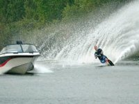 We will show how to water ski in no time