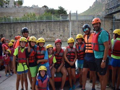 3:30h Rafting for Schools in Segura River