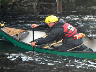 Adam Evans Outdoor Instruction Canoeing