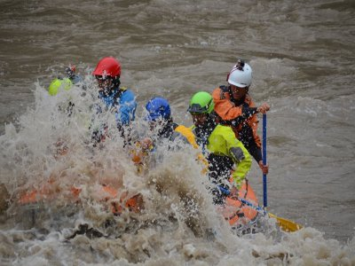Family Rafting in Esera River, Half a Day, ADULT