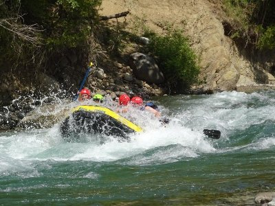 Rafting in Esera River from Campo, 14km Trail