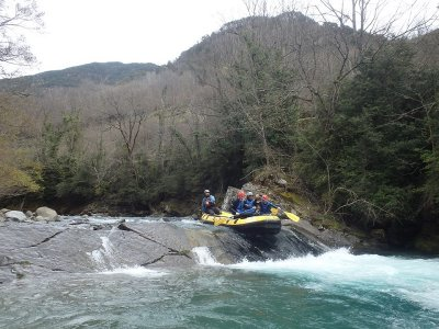 Rafting in Cinca River to Aínsa, ADULTS