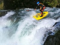 Awesome white water skills!