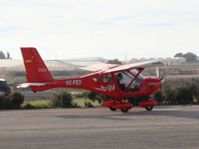 Pilot For 1h20m an Aircraft in Murcia