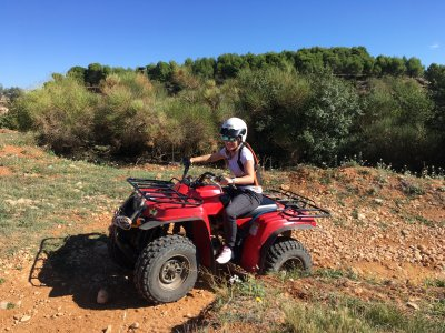 One-seater Quad tour in Penedés 2 hours
