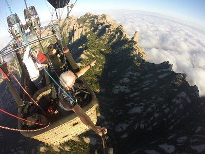 Balloon Ride in Montserrat & Monastery Visit