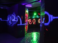 Our glow in the dark arena