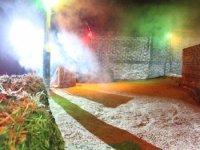 Smoke and lights
