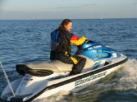 Jet Skiing in Poole.