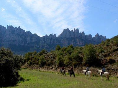 Ride a Horse in Montserrat & Monastery Visit