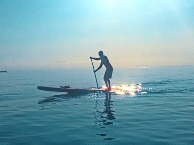 Initiation to paddle surf classes in Tarragona