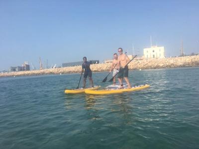 Fitness SUP classes in Tarragona