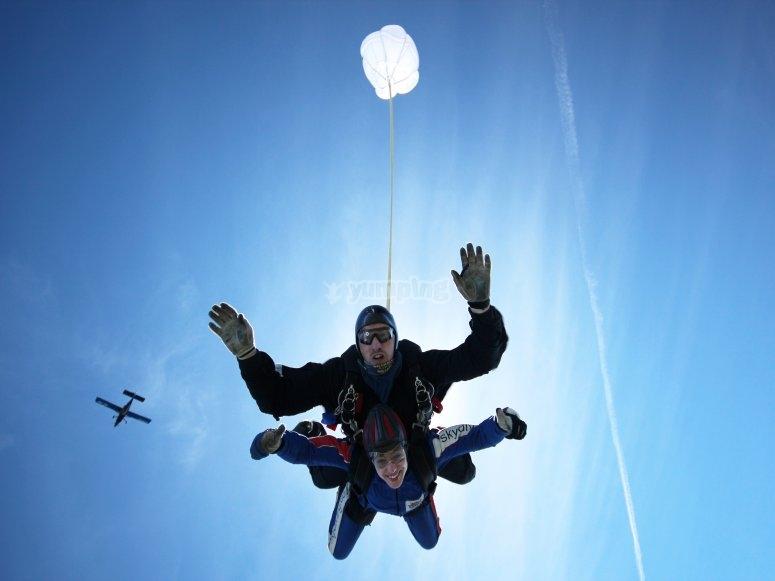 Skydiving in Brigg