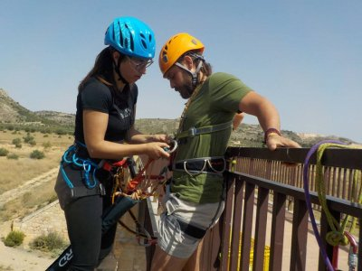 Bungee Jumping in Villena + Pics & Drone Videos