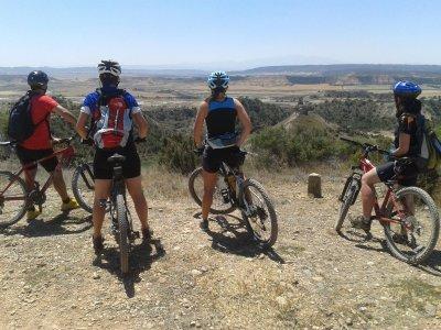 MTB tour across mountains of Huesca