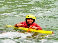 Jimmy the coasteering leader