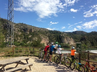 Vía Verde Val del Zafán Bicycle Kayak 4 days