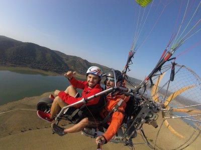 20min. Paratrike Flight in Lora Del Río & Pics