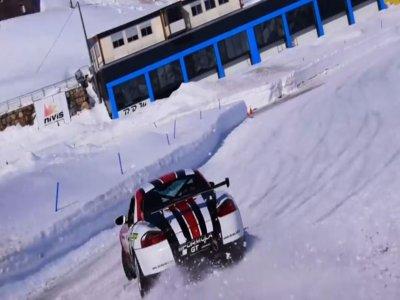 Drive Porsche Boxster in Andorra's Ice Circuit