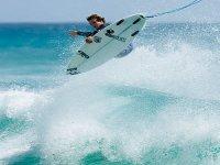 Lydon Wake surfer