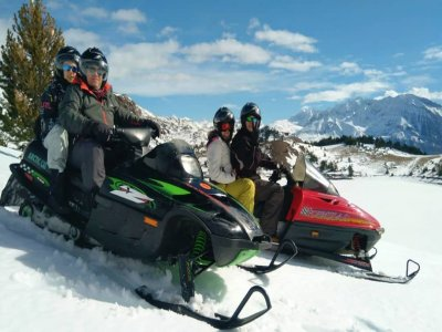 Two-Seater Snow Bike Route in Tena Valley, 1h