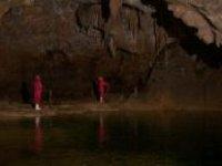 Explore underground caverns