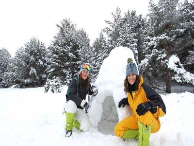 Sleep in the Snow Pack, Tena Valley