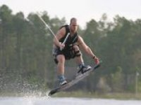 Make the jump wakeboarding