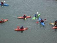 We can accommodate large kayaking groups