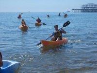 Kayaking is great fun for everyone.