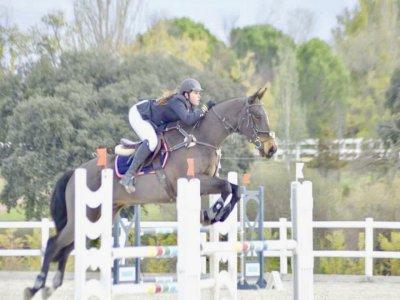 Riding lessons 4-hour voucher in La Pedriza