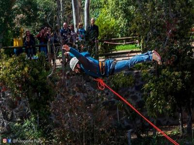 Bungee Jumping 30 m high in Sant Sadurní 9 am