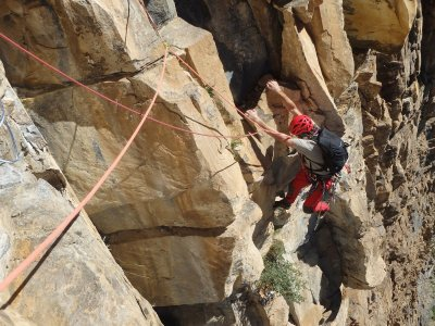 Full-day classic climbing in Calcena