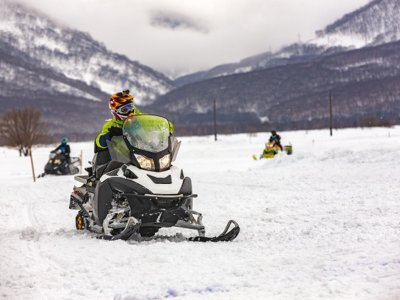 Snowmobile and snack for 2 adults Montgarri
