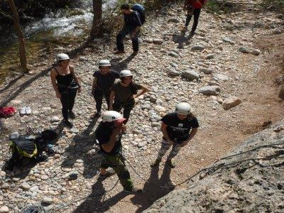 Climbing in Maimona canyon 3 hours