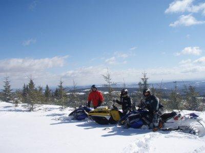Two-seater snowmobile tour Grandvalira 60 min