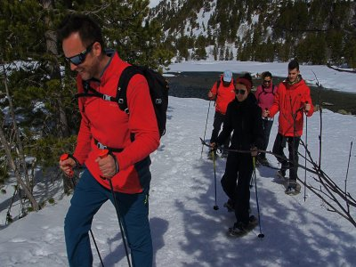 Snowshoes route, hotel and spa for 2 Espot Esquí